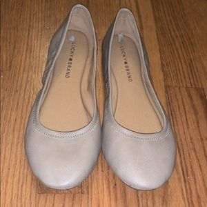 NWT Nude Lucky Brand Flats